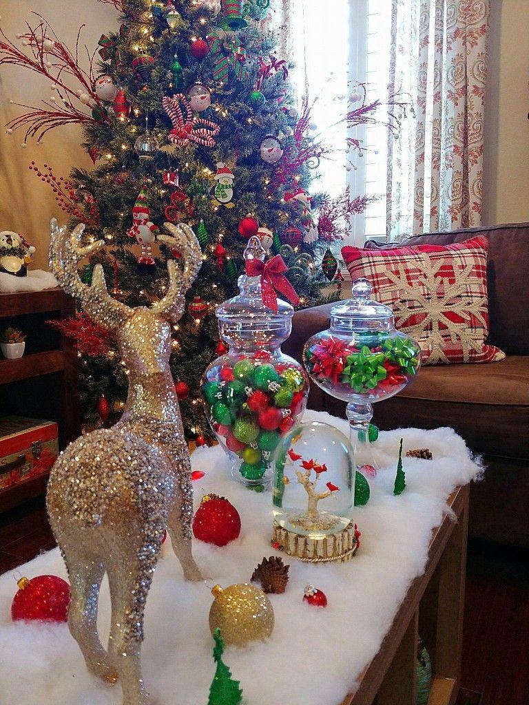 Christmas coffee table decor   Christmas coffee table ...
