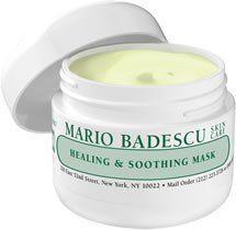 Healing Soothing Mask Mario Badescu Skin Care Mario Badescu Skin Care Cream