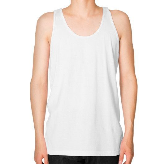 1st Edition Cookout MEAT Unisex Fine Jersey Tank (on man)
