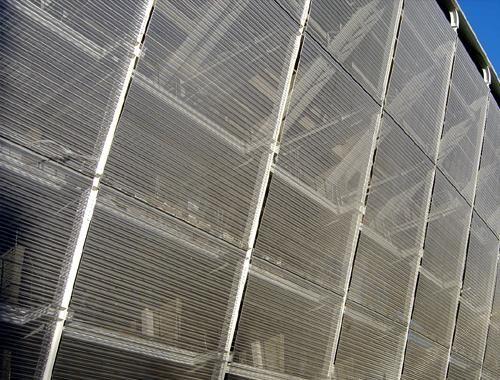 Mallas metálicas - Tejidos metálicos para arquitectura Mesh and