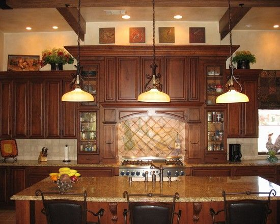 Decor Over Kitchen Cabinets Decorate Above Home Decorating The Collection