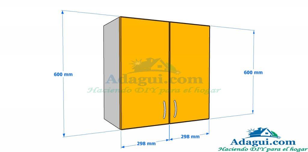 Pin de brico diy net en muebles diy pinterest planos Planos de gabinetes de cocina gratis
