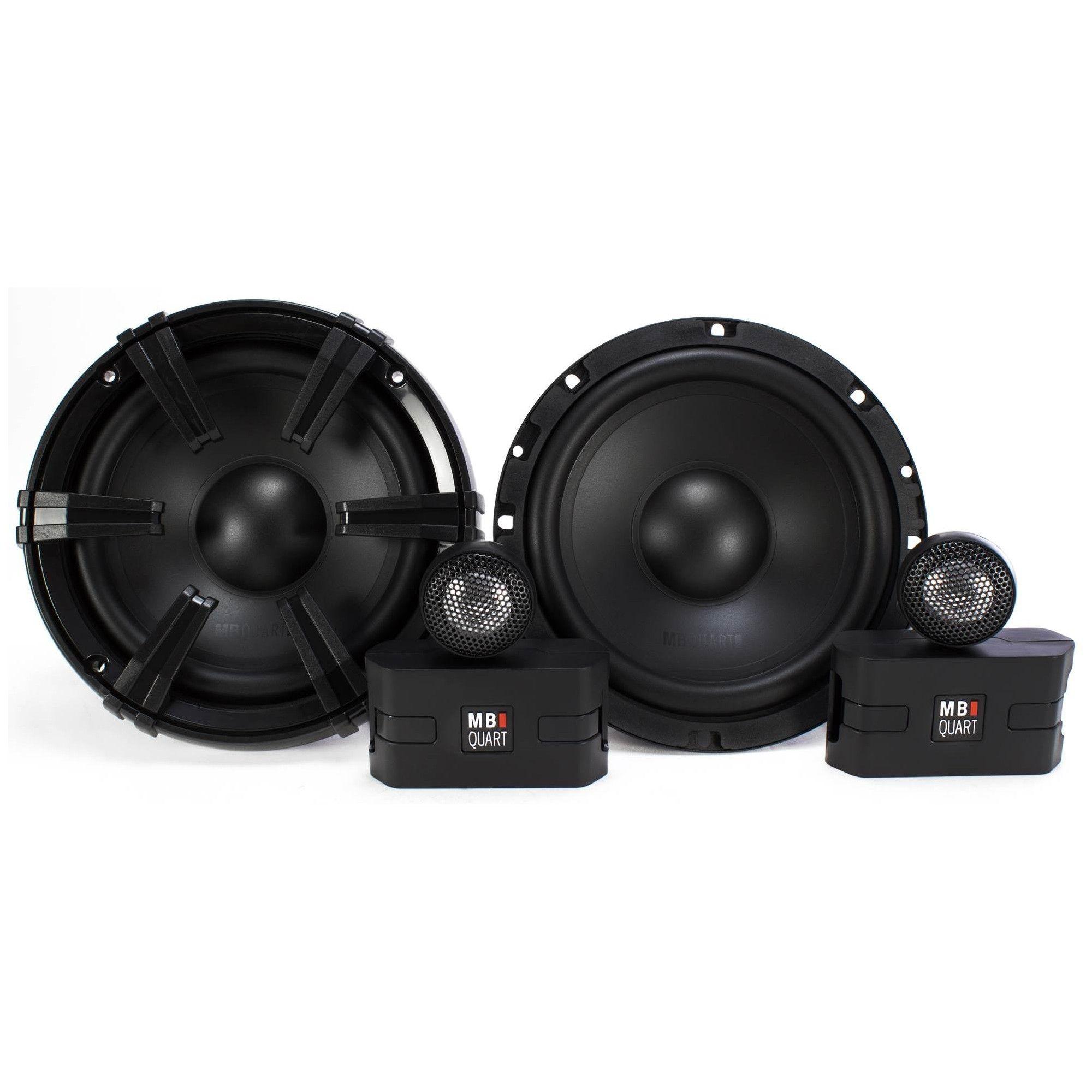 2) MB Quart 6.5 90 Watt Component Speakers Speaker System Set Pair | DC1-216 #componentspeakers