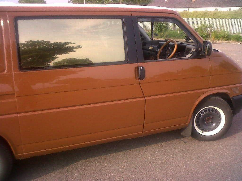 retro paint, steel wheels and a reclaimed wooden interior... - Page 5 - VW T4 Forum - VW T5 Forum