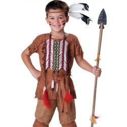 Kids Indian Brave Warrior Boys Native American Halloween Costume  sc 1 st  Pinterest & Kids Indian Brave Warrior Boys Native American Halloween Costume ...