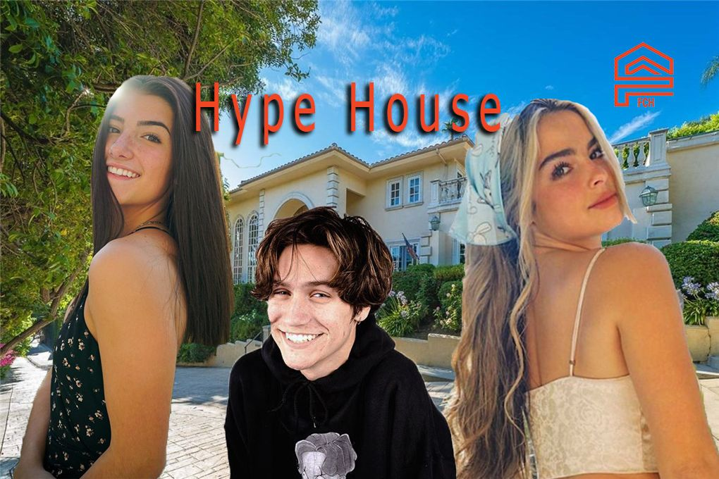 The Hype House Is A Big Mansion Where Some Of The Biggest Tiktok Stars Live It S Located In Encino Ca Where Other Social Celebrity Houses Big Mansions Encino