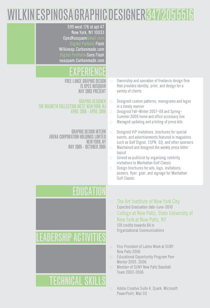 High Quality Kick Ass Resume By ~opesnusquam On DeviantART