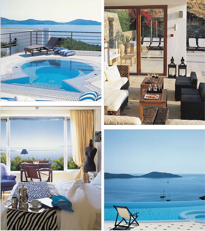 Elounda Gulf Villa & Suites // Crete, Greece // Honeymoon