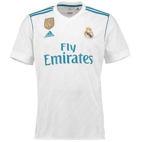 Tailandia Camiseta Real Madrid Casa 2017 2018  22289d7335910