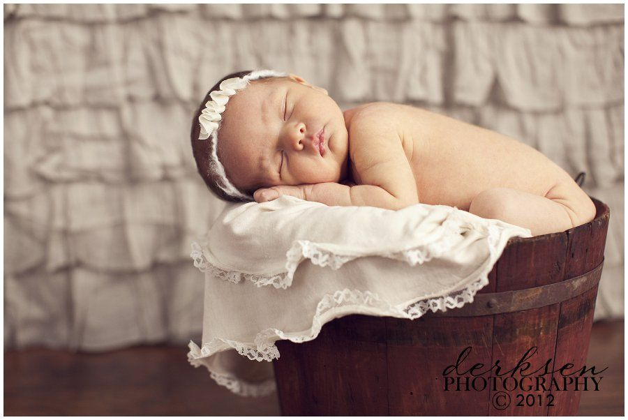 Infant photo prop ideas love the basket idea