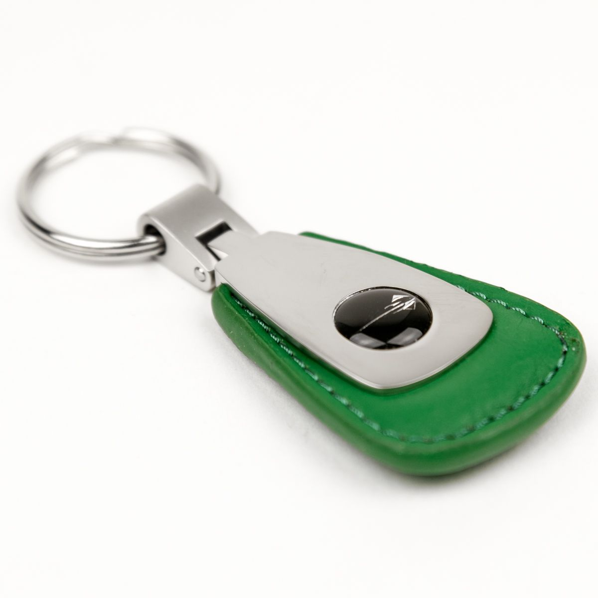 Corvette Stingray Vintage Leather Teardrop Fob - Green | high-end ...