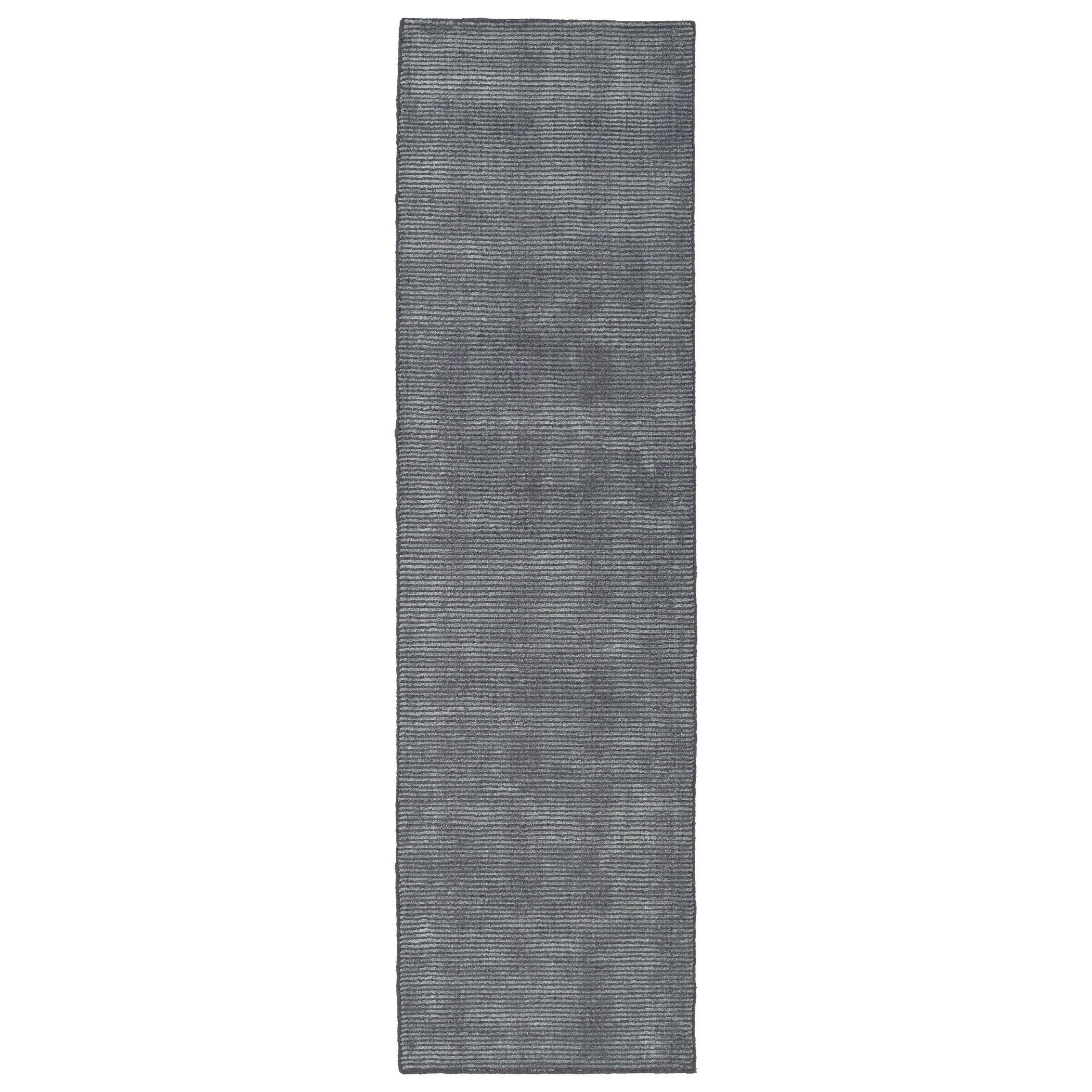 Kaleen Rugs Solid Chic Carbon And Dark Grey Hand Tufted Rug 2 3