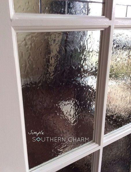 Front Door Window Privacy Ideas