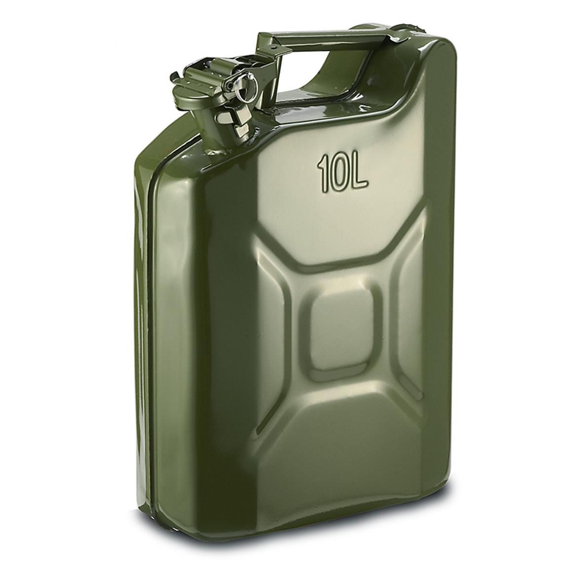 U S Military Style Reproduction Jerry Can 10 Liter 2 5 Gallon Jerry Can Military Surplus Military Fashion