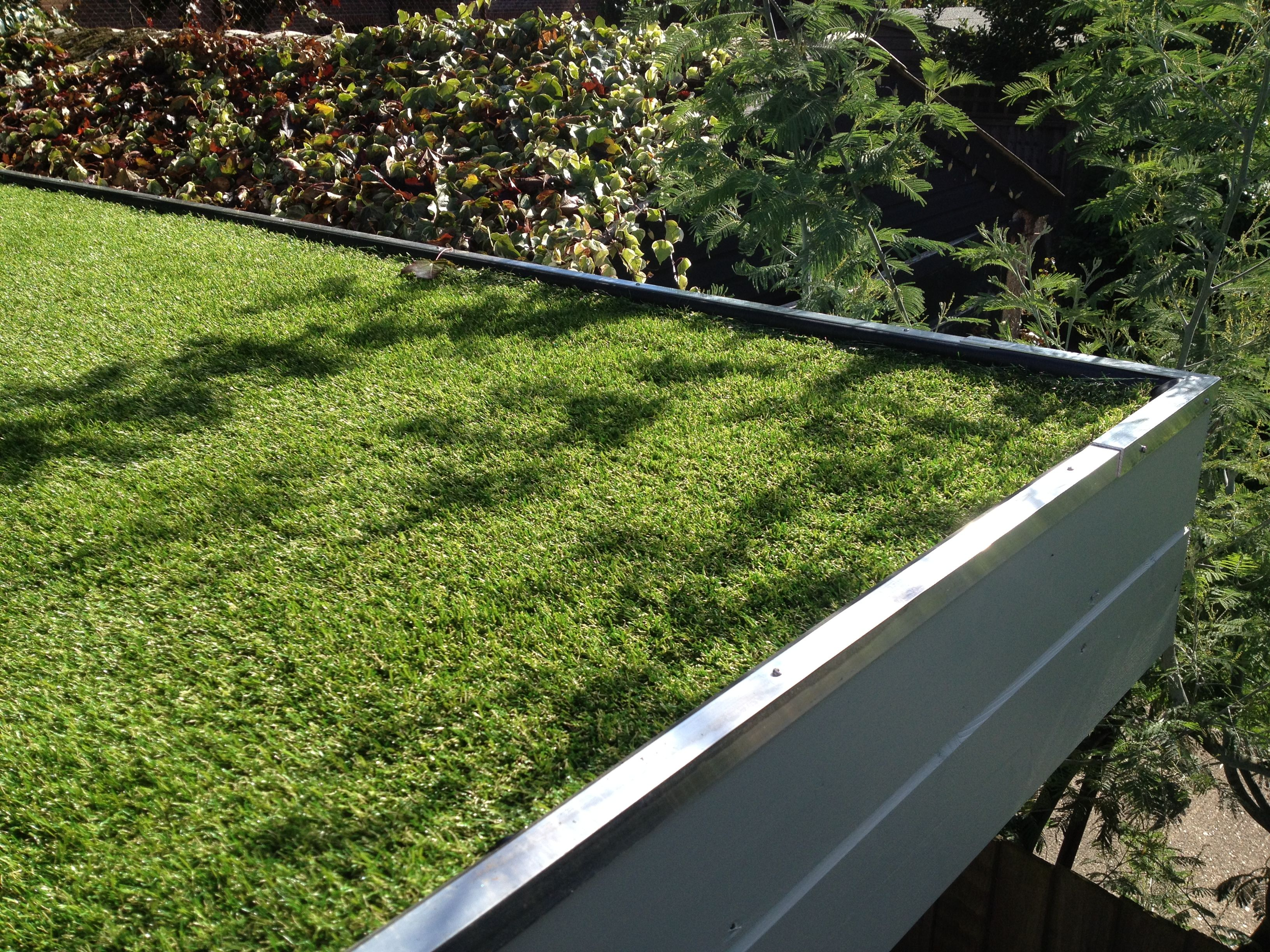 Why Not Add An Artificial Grass Roof To Your Garden Building Artificial Plants Outdoor Small Artificial Plants Artificial Plants Indoor