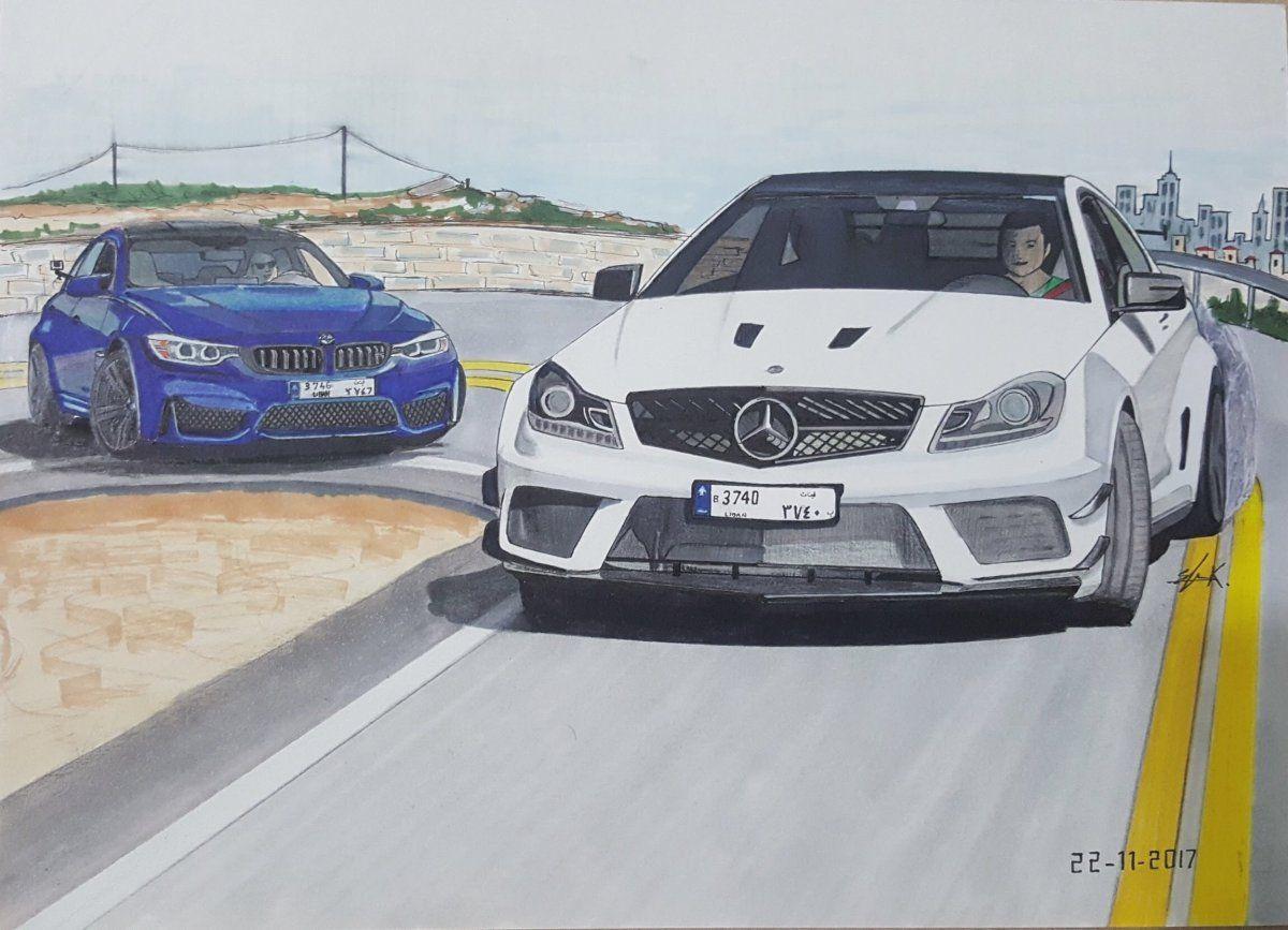 AMG C63 Black Series VS BMW M3 - elieautodesign - Draw to ...