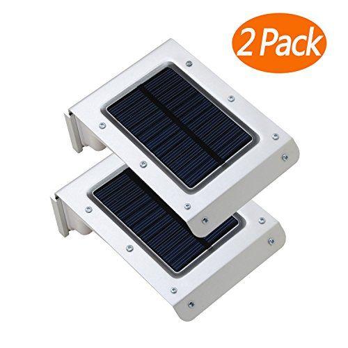 Pack of 2 easternstar solar motion sensor lights20 led solar wall pack of 2 easternstar solar motion sensor lights20 led solar wall lights wireless mozeypictures Images