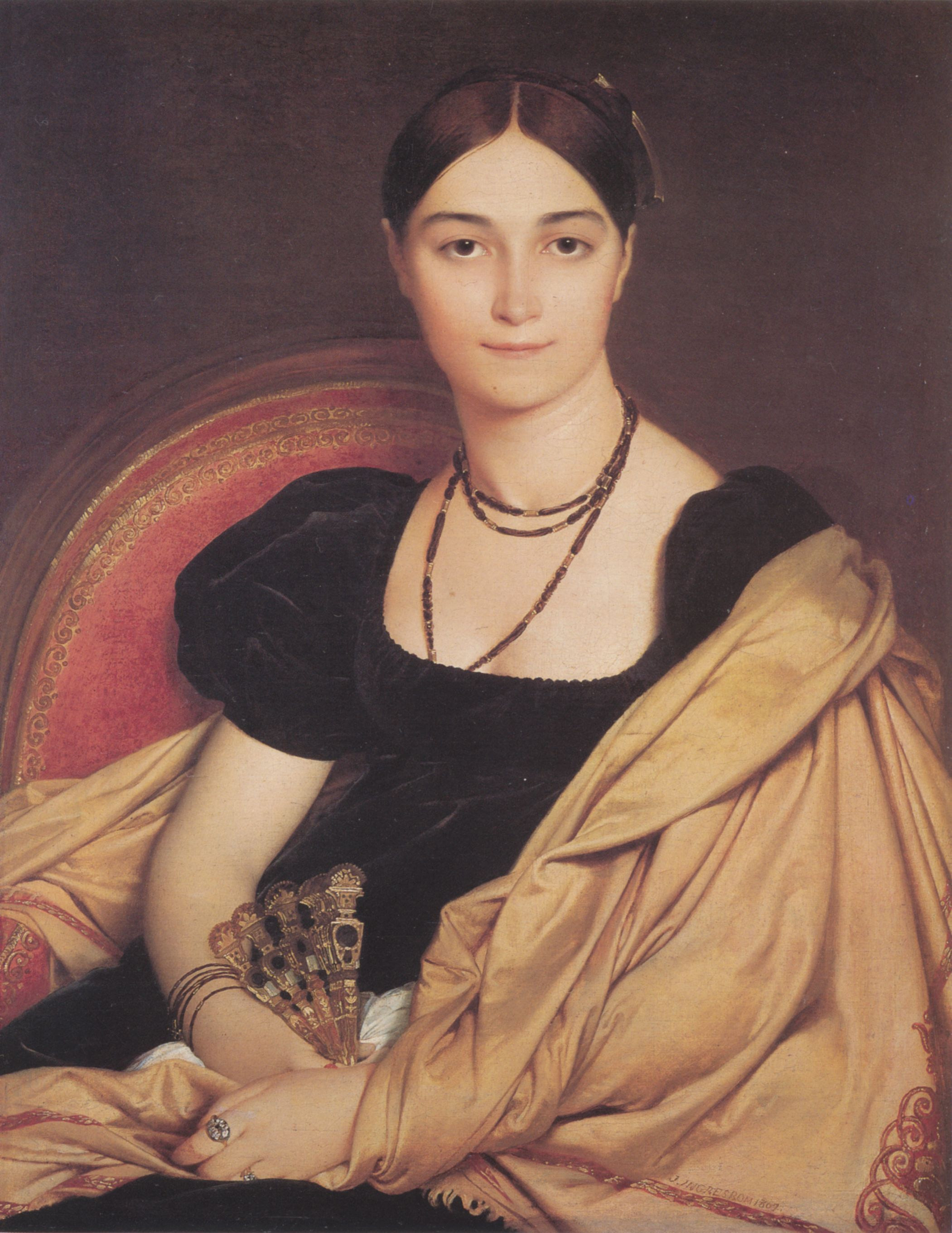 Jean Auguste Dominique Ingres Met Afbeeldingen Portret