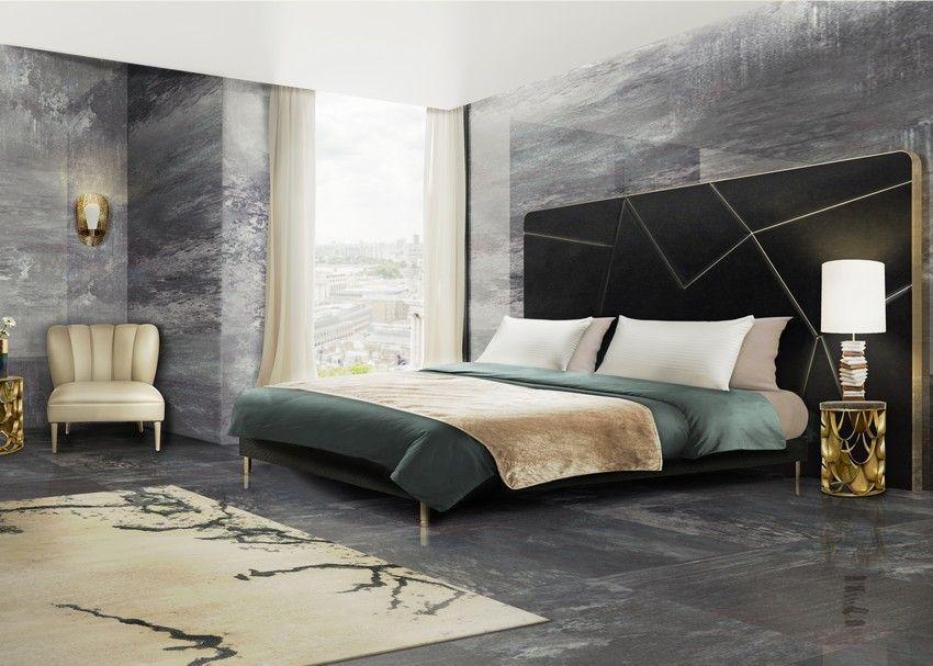 Schlafzimmer Mobel Moderne #19: 10 Luxus-Möbel Zu Einem Modernen Frühling Schlafzimmer Design