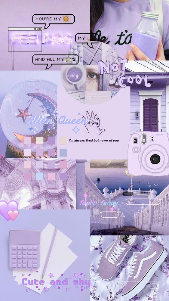 Purple Aesthetic Wallpaper Anime