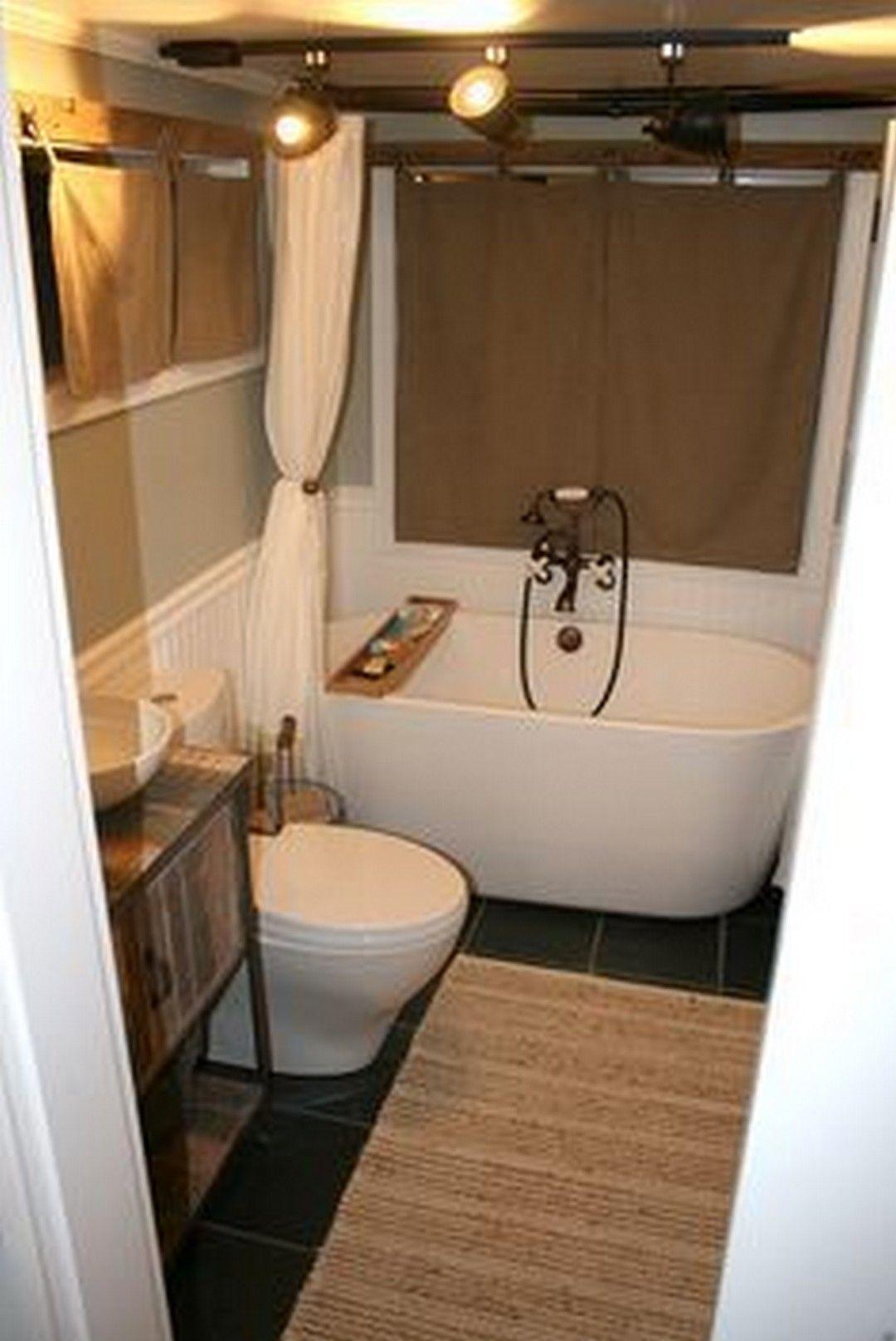 Cool tiny house bathtub small space ideas inspirational photos