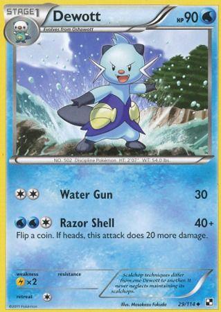 Dewott 29 114 Uncommon Imagenes De Emociones Cartas Pokemon Emociones