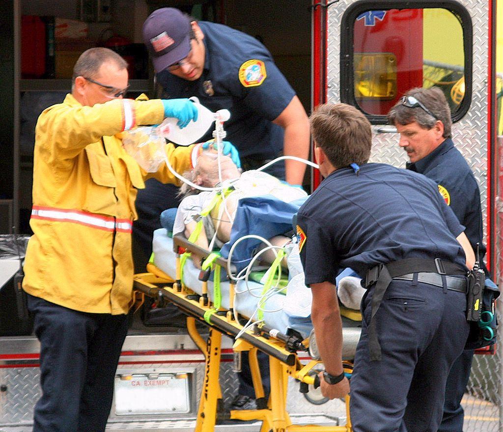 Emergency medical technician emergency medical