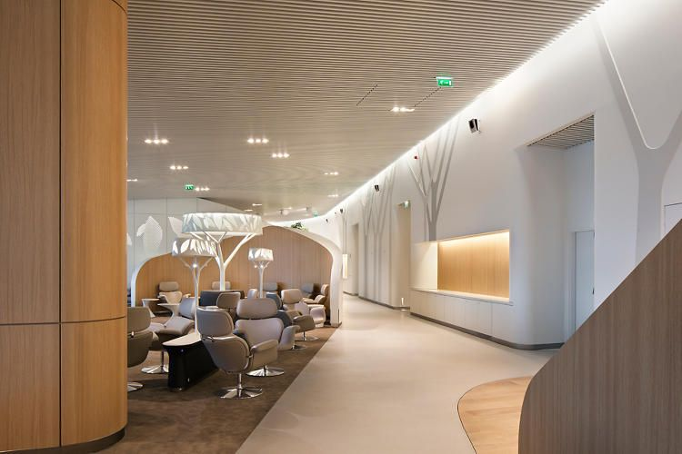 Airport Lounge Simulates An Urban Park To Soothe Harried Flyers | Co.Design | business + design