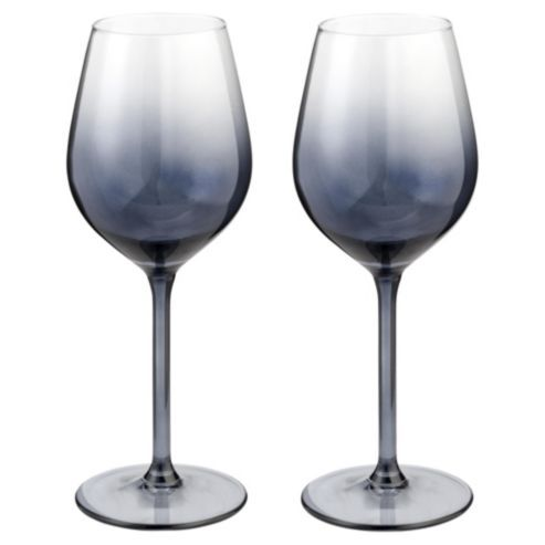 Tesco Red Wine Crystal Glasses 4 Pack
