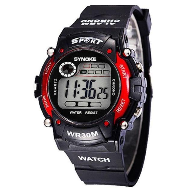 Good Synoke Men Sport Student Watch Kids Watches Boys Clock 2019 Led G Digital Wristwatch Shock Electronic Watch For Boy Girls Moderate Cost Children's Watches
