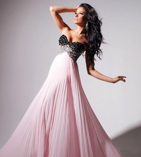 Beautiful Black And Pink Dress Black And Pink Dress Dresses