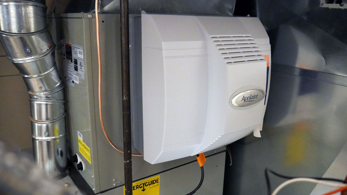 Do not give dry air a chance! Install a humidifier for