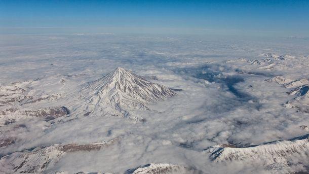 Mount Damavand Iran Scenery Wallpaper Nature Wallpaper Winter Pictures