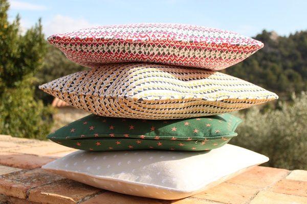 SLOWERS, Organic cotton cushions.