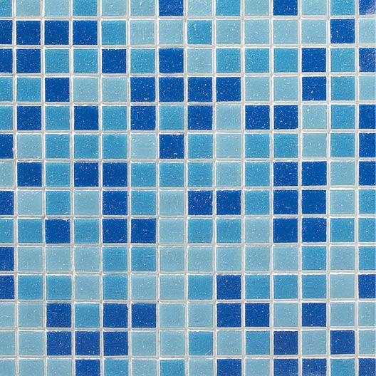 Mosaique Pate De Verre Bleu 2 X 2 Cm Verre Bleu Verre Mosaique