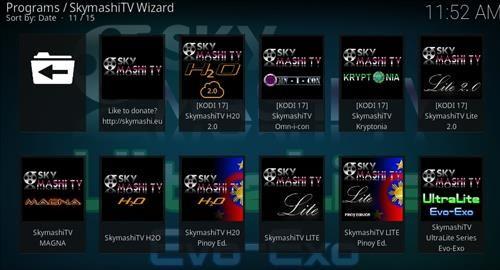 How to Install SkyMashi TV Wizard Kodi 17 Krypton pic 2 | Kodi