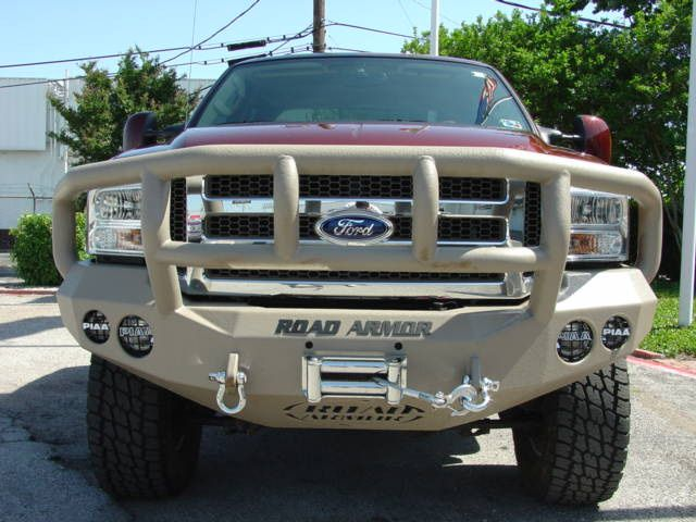 Road Armor 2005 2007 Ford Superduty Front Stealth Winch