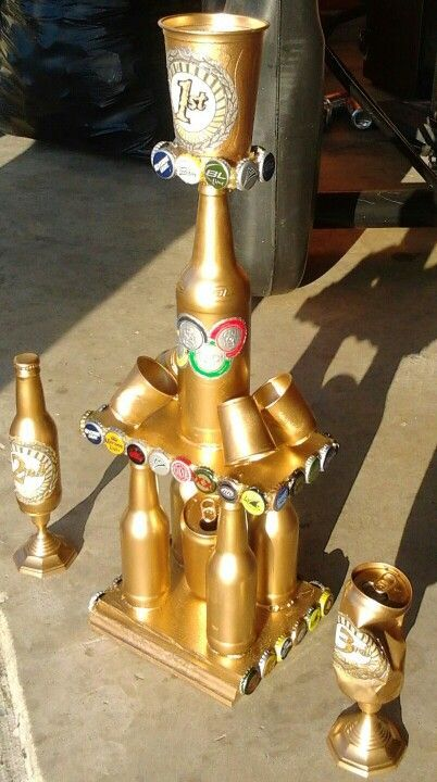 Fun Trophy For A Quot Beer Quot Olympics Party Entertaining