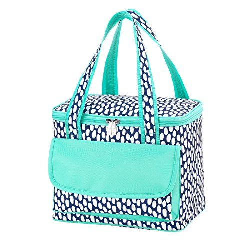 3a75dc08268e Tide Pool High Fashion Print Collapsible Soft Cooler Bag Tote ...