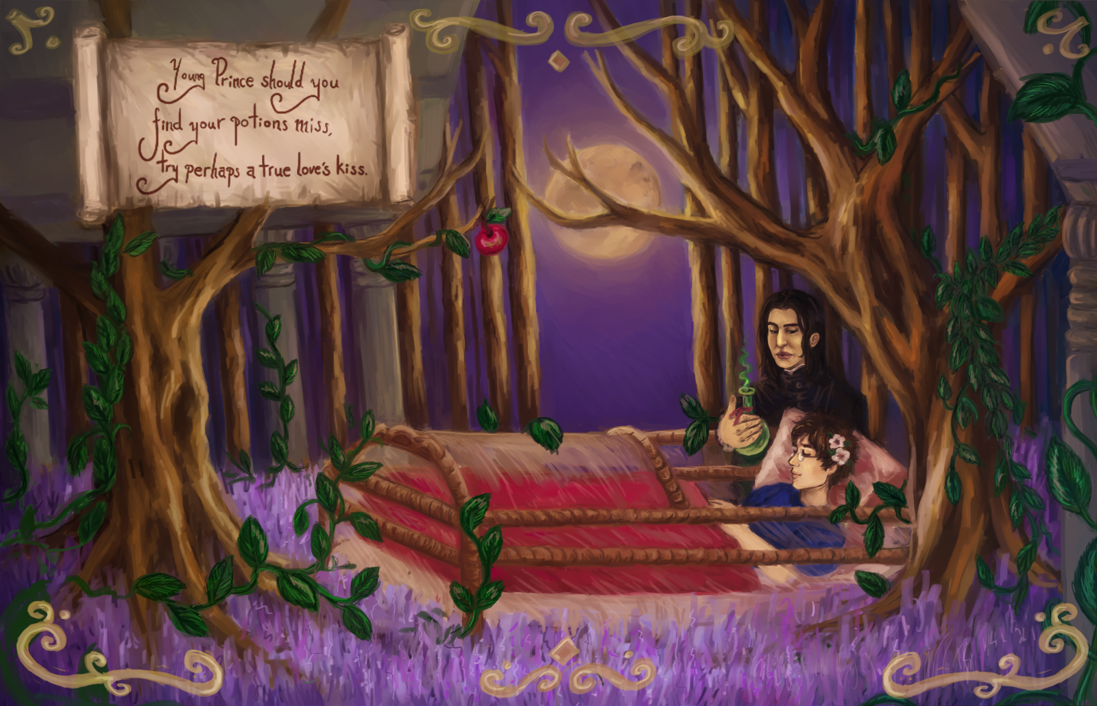 Snow White And The Foolish Prince By Defenestrationisthekey Snape Character Harry Potter Severus Harry Potter