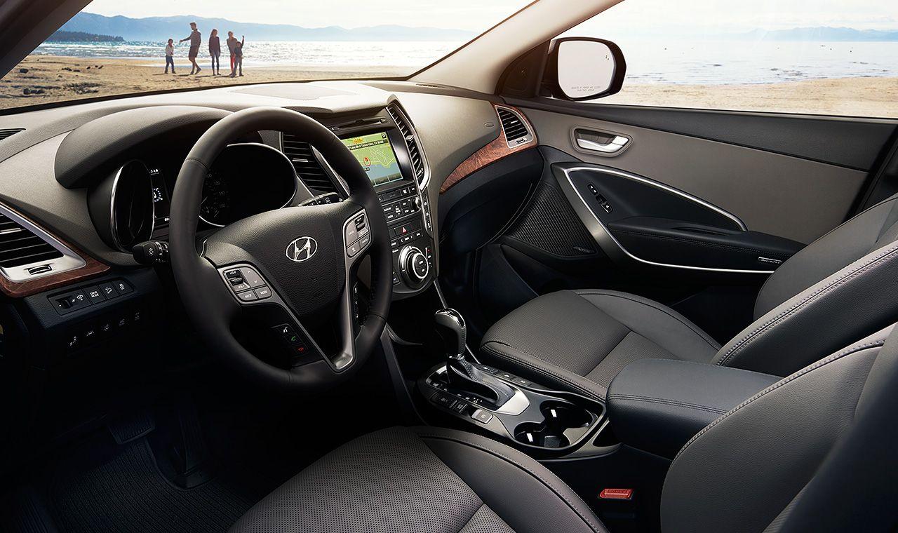2017 Santa Fe Interior Hyundai Santa Fe Sport Hyundai Santa Fe Santa Fe Sport