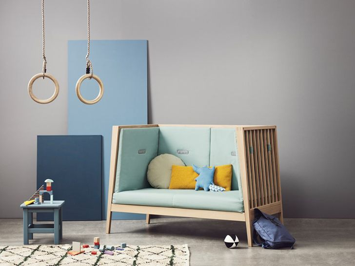 Nuevos muebles de beb linea de leander mam moderna for Muebles infantiles diseno