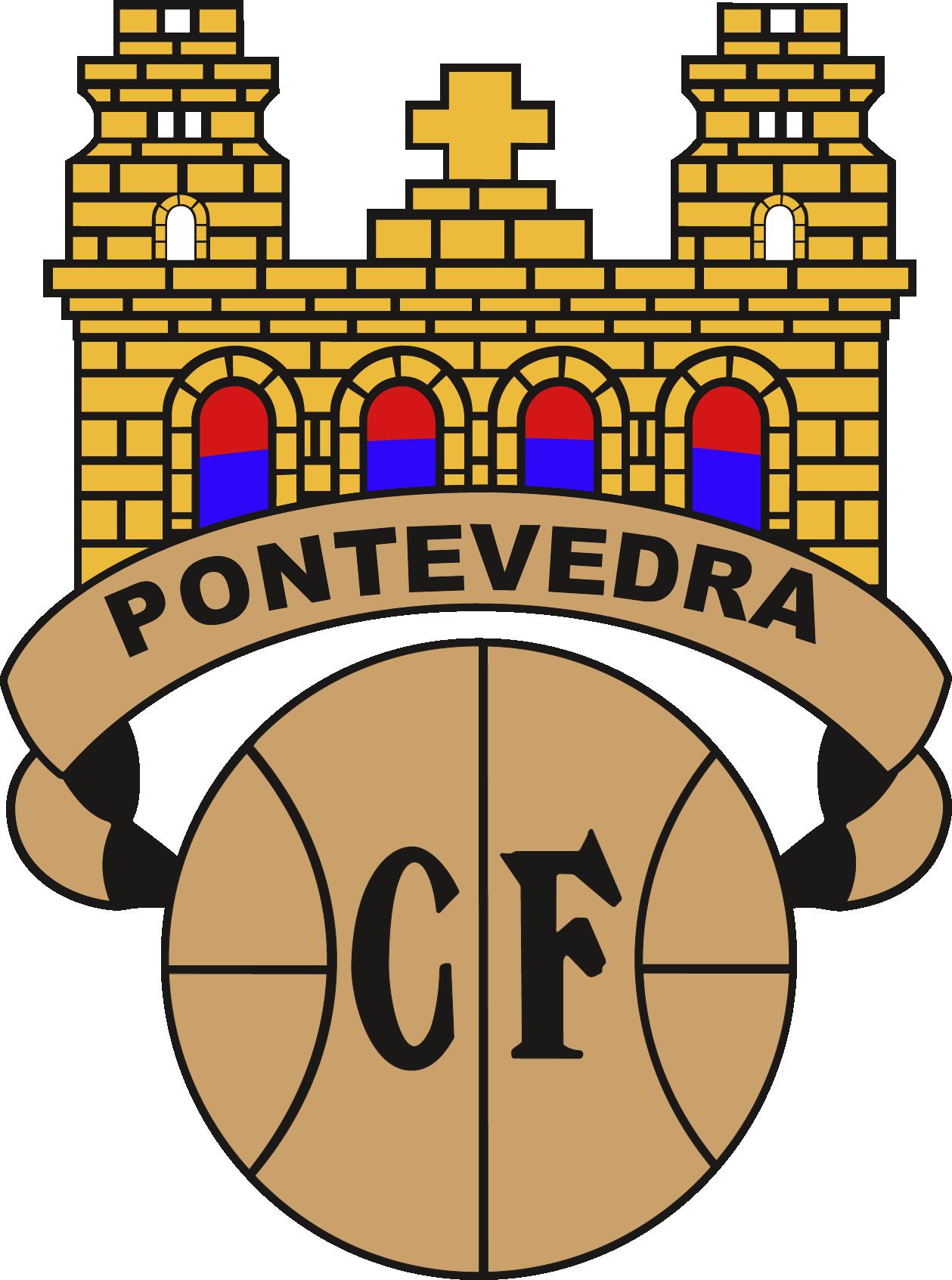 Pontevedra CF Fútbol, Escudo, Futbol soccer