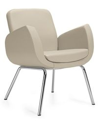 Kate Series Contemporary Lounge And Guest Chair 2813lm By Global