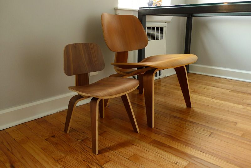 Eames LCW for Adult + Kid