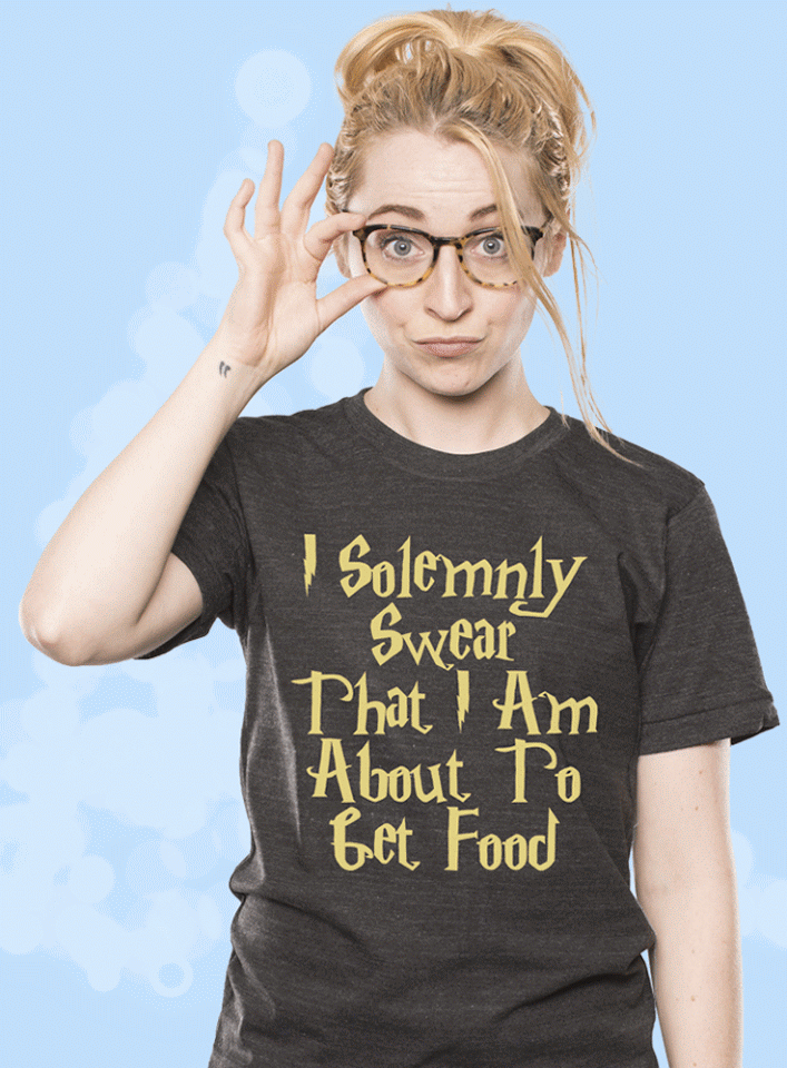 I Solemnly Swear That I M About To Get Food Shirt