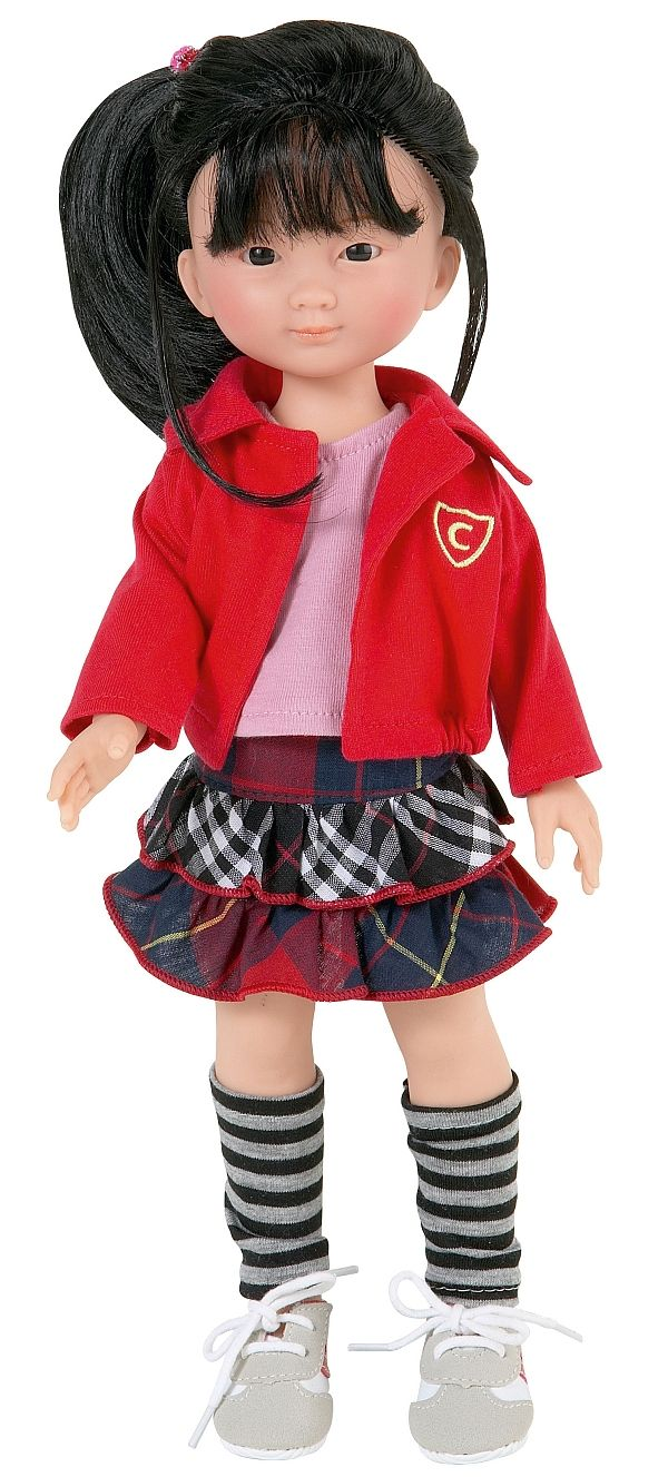 A very cute doll.