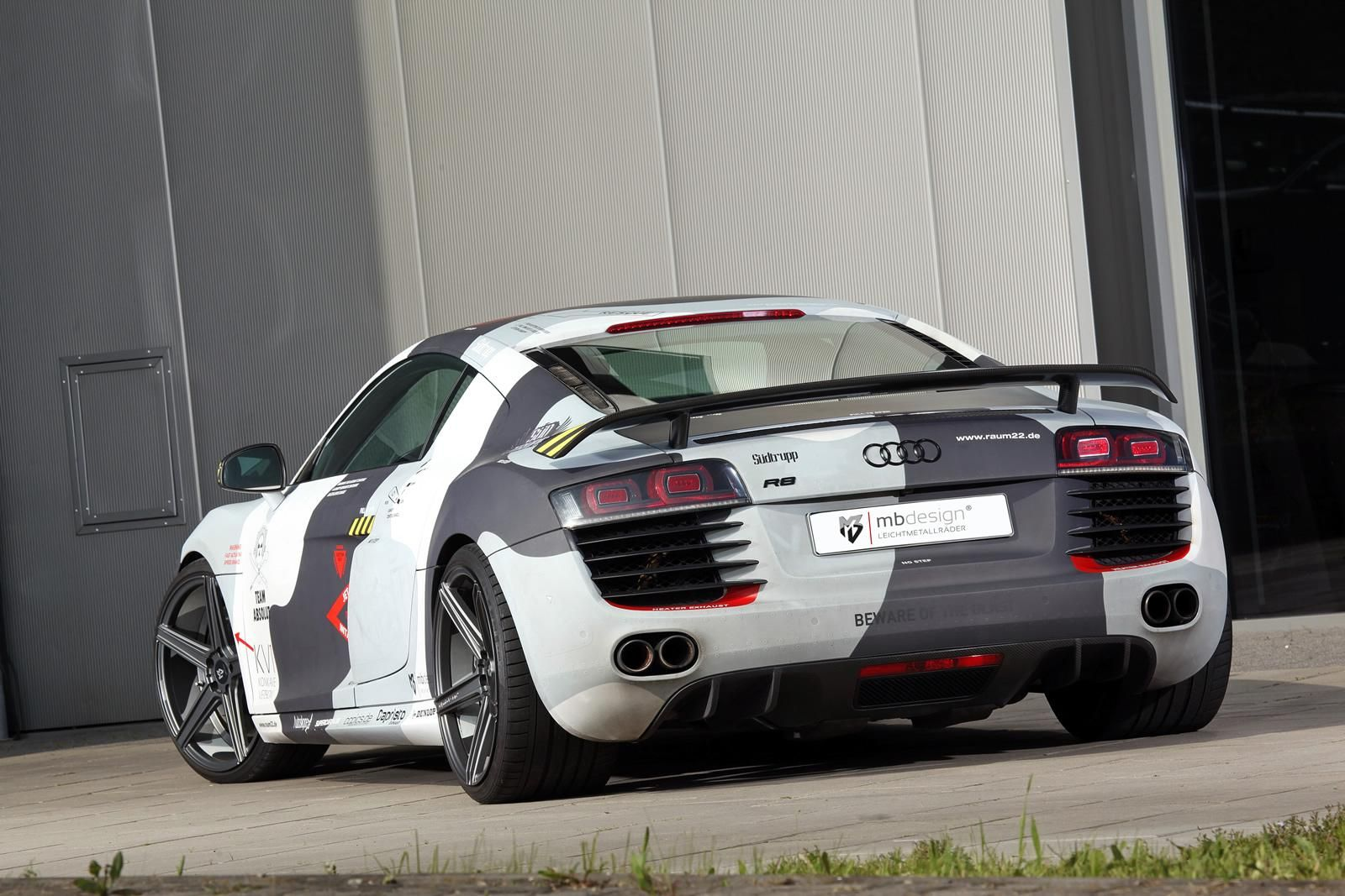 Audi R8 Hidden In Plain Sight