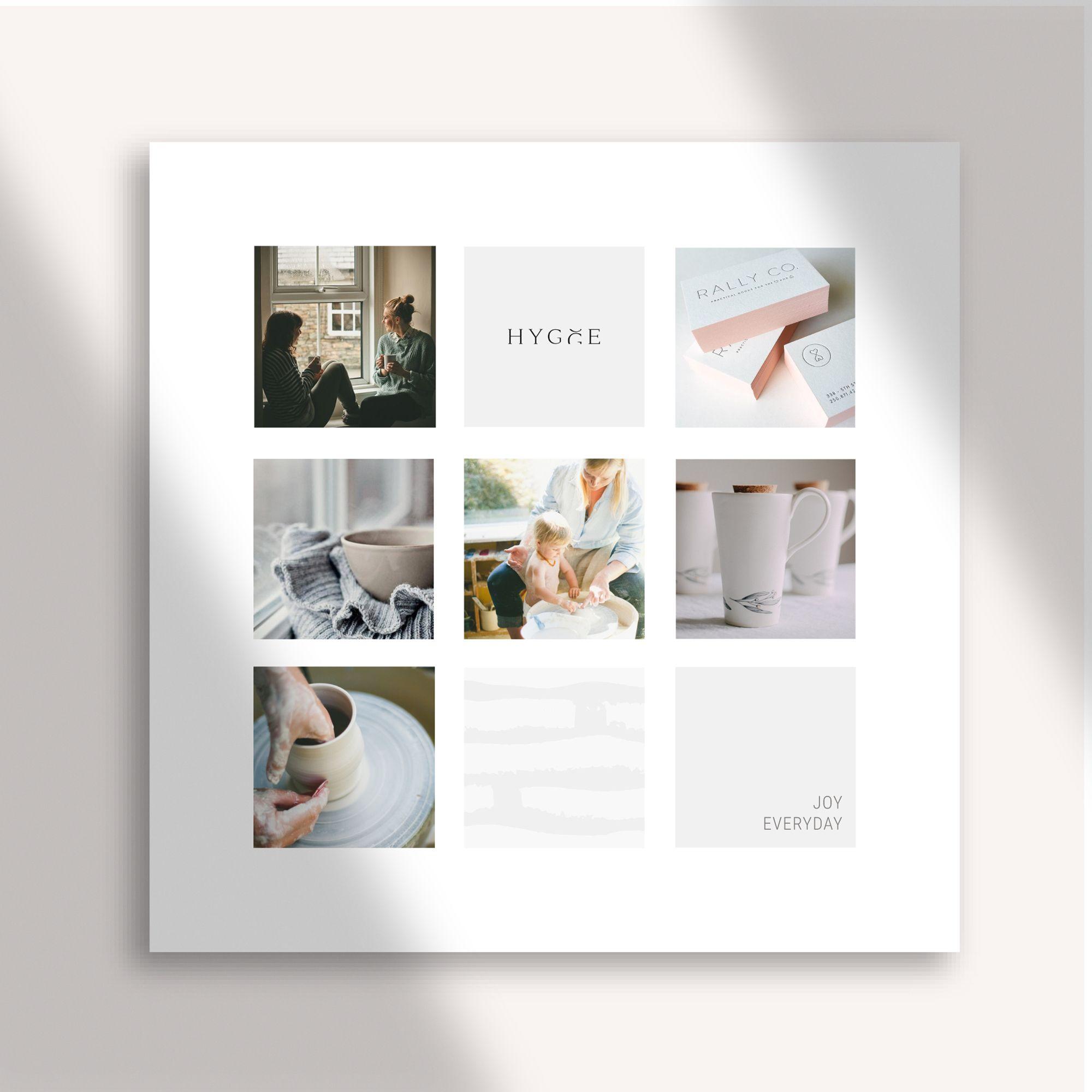 Minimalist Hygge Mood Board Shopify Website Design Design Wordpress Website Design