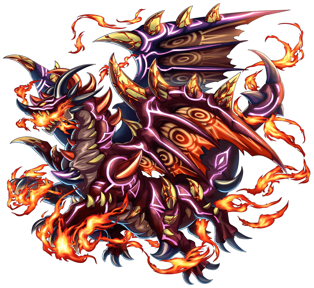 brave frontier game dragon god granados dragon